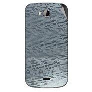 Snooky 43541 Mobile Skin Sticker For Intex Aqua Wonder - silver