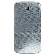 Snooky 43685 Mobile Skin Sticker For Intex Cloud Z5 - silver