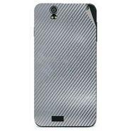 Snooky 43818 Mobile Skin Sticker For Lava Iris selfie 50 - silver