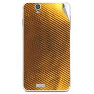 Snooky 43893 Mobile Skin Sticker For Lava Iris X5 - Golden