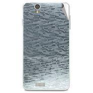 Snooky 43901 Mobile Skin Sticker For Lava Iris X5 - silver