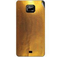 Snooky 44013 Mobile Skin Sticker For Micromax Ninja A91 - Golden