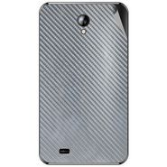 Snooky 44094 Mobile Skin Sticker For Micromax Superfone A101 - silver