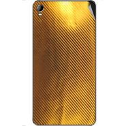 Snooky 44109 Mobile Skin Sticker For Micromax Canvas Fire2 A104 - Golden
