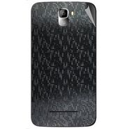 Snooky 44124 Mobile Skin Sticker For Micromax Canvas Entice A105 - Black