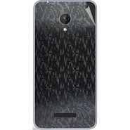 Snooky 44376 Mobile Skin Sticker For Micromax Micromax Canvas Spark Q380 - Black