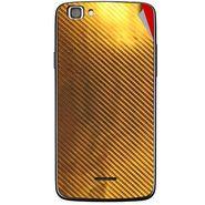 Snooky 44433 Mobile Skin Sticker For Xolo A500s Lite - Golden