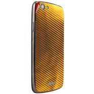 Snooky 44445 Mobile Skin Sticker For Xolo A510S - Golden