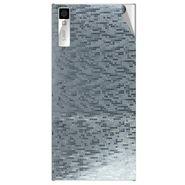 Snooky 44561 Mobile Skin Sticker For Xolo Q600s - silver