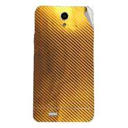 Snooky 44613 Mobile Skin Sticker For Xolo Q900 - Golden