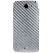 Snooky 44646 Mobile Skin Sticker For Xolo Q1000 - silver