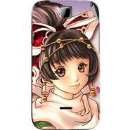 Snooky 45878 Digital Print Mobile Skin Sticker For Micromax Ninja 3.5 A54 - Multicolour