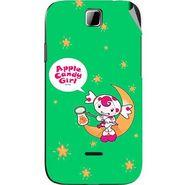 Snooky 45880 Digital Print Mobile Skin Sticker For Micromax Ninja 3.5 A54 - Green