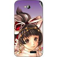 Snooky 45974 Digital Print Mobile Skin Sticker For Micromax Bolt A089 - Multicolour