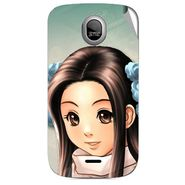 Snooky 46007 Digital Print Mobile Skin Sticker For Micromax Ninja A89 - Multicolour