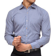 Rico Sordi Full Sleeves Checks Shirt_R006f - Blue