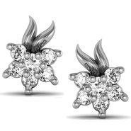 Avsar Real Gold and Swarovski Stone Sonali Earrings_Ave032wb