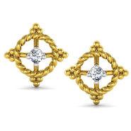 Avsar Real Gold and Swarovski Stone Anjali Earrings_Uqe026yb