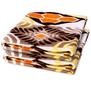 Storyathome Set of 2 Designer Printed Double Fleece Blanket-CA1209-CA1209