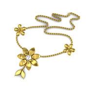Avsar Real Gold & Swarovski Stone Pournima Necklace_Nl1yb