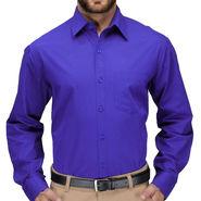 Full Sleeves Cotton Shirt_rybluesht - Royal Blue