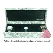 5 Slot Leatherette Vintage Vogue Art Watch Organiser_ADWB0000136