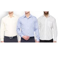 Pack of 3 Copperline Cotton Rich Formal Shirts_CPL10791921 - MultiColor