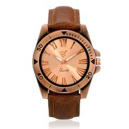 Rico Sordi Analog Round Dial Watch For Men_Rsmwl70 - Golden