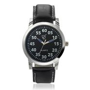 Rico Sordi Analog Round Dial Watch For Men_Rsmwl81 - Black