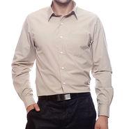 Mind The Gap Full Sleeves Shirt For Men_S7165 - Beige