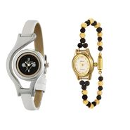 Combo of 2 Oleva Analog Wrist Watches For Women_Ovd165