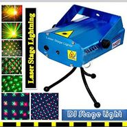 ZINGALALAA Sound Activated Laser Mini Light Projector Stage Lighting for Party (20.00 Watts)