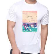 Oh Fish Graphic Printed Tshirt_Dgtsfgds