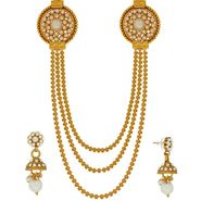 Spargz Brass Metal Necklace Set_Ains095
