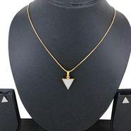 Spargz Brass Metal Pendant Set_Aips172