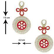 Spargz Alloy Metal Earring_Aier179