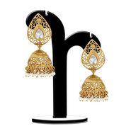 Spargz Brass Metal Earring_Aier369