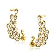 Spargz Brass Metal Earring_Aier410