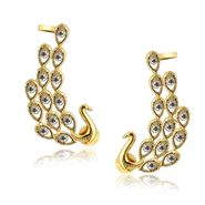 Spargz Brass Metal Earring_Aier413