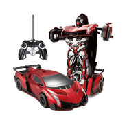2 in1 Remote Control Robot cum Venneno Toy Car- Red