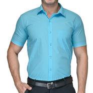 Being Fab Cotton Formal Shirt_Bfs21 - Sky Blue