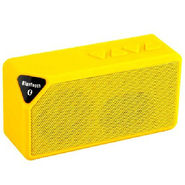 DGB Monk X3 Portable Bluetooth Speakers (Yellow)
