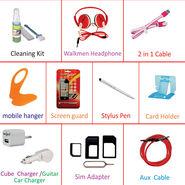 Callmate Combo of Mobile Accessories(10)