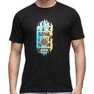 Effit Half Sleeves Round Neck Tshirt_Etscrn022 - Black