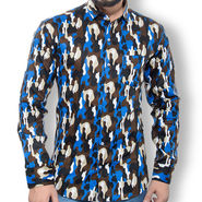 Printed Cotton Shirt_Gkdcsblubl - Multicolor