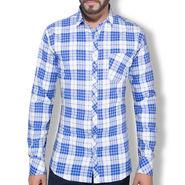 Checks Cotton Shirt_Gkchexw - Blue