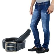 Stylox Jeans With Belt_Dnm42019