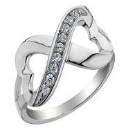 Ag Real Diamond Divya Ring_ AGSR0258