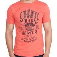 Branded Cotton Slim Fit Tshirt_Edho07 - Orange