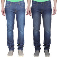 Pack of 2 Cotton Denim For Men_Jcpk2 - Blue & Dark Blue